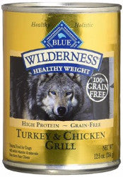 Blue Buffalo - Wilderness Healthy Weight Canned Dog Food (12 pk)