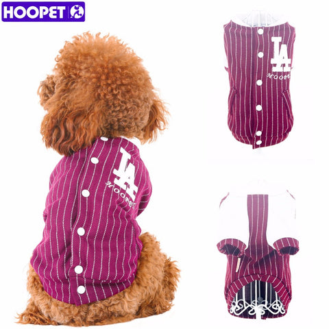 Hoopet Stripe Baseball Uniform