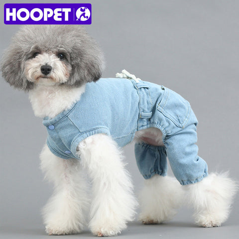 Hoopet Classic Denim Outfit
