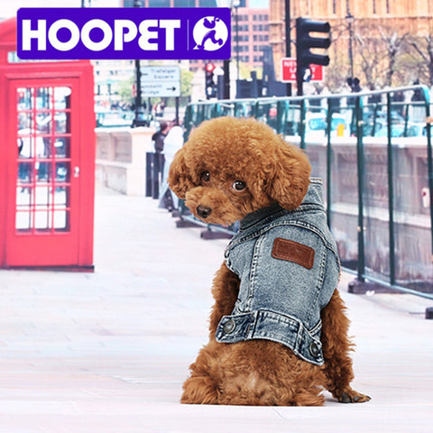 Hoopet Blue Denim Vest