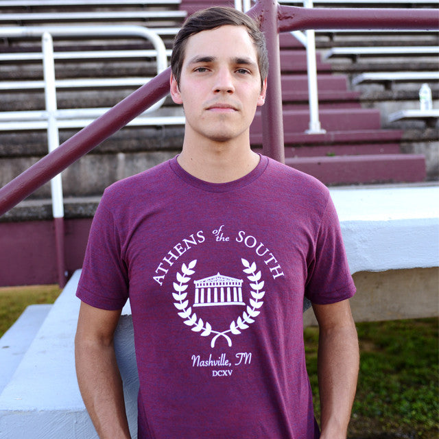 Athens of the South t-shirt