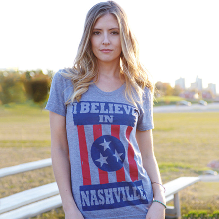I BELIEVE IN NASHVILLE Original Grey