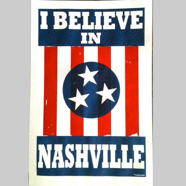 I BELIEVE IN NASHVILLE poster