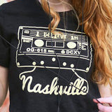 I BELIEVE IN NASHVILLE Mixtape T-shirt