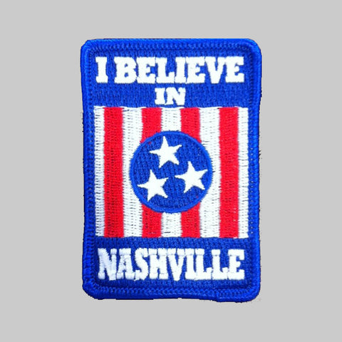 I BELIEVE IN NASHVILLE patch