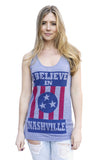 I BELIEVE IN NASHVILLE Original - grey tank