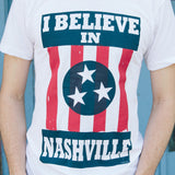 I BELIEVE IN NASHVILLE Original White