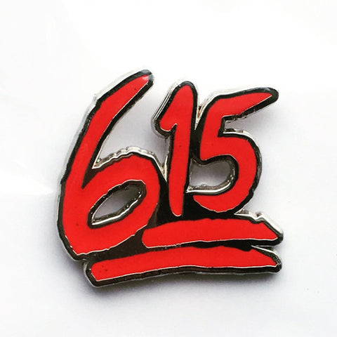 615 to 💯 enamel pin