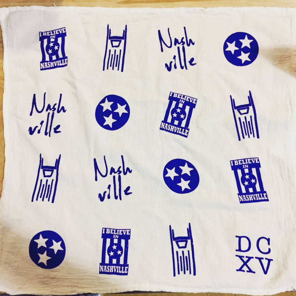 Nashville Tea Towel / Bandana