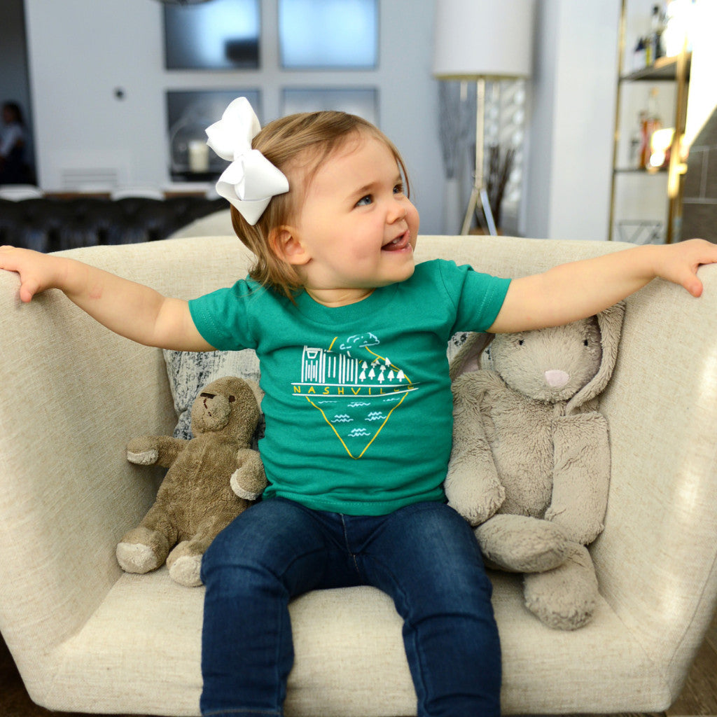 Nashville Diamond kids & baby shirt