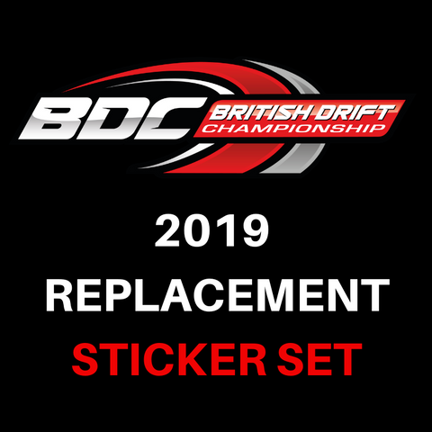 BDC 2019 – Replacement Sticker Set