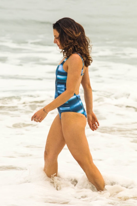 BATHING SUIT NATALIE BLUE