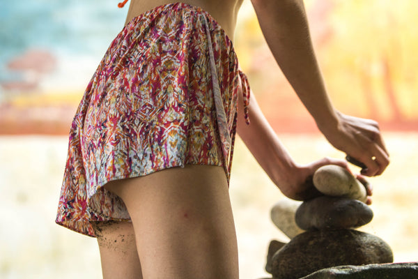 SHORTS KRISTY WATER