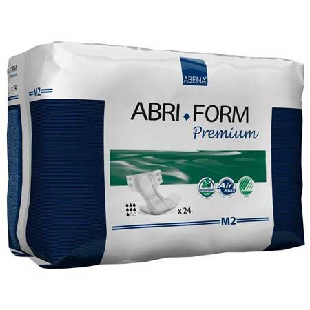 Abena Abri-Form Level 2 Adult Diaper, Size Medium