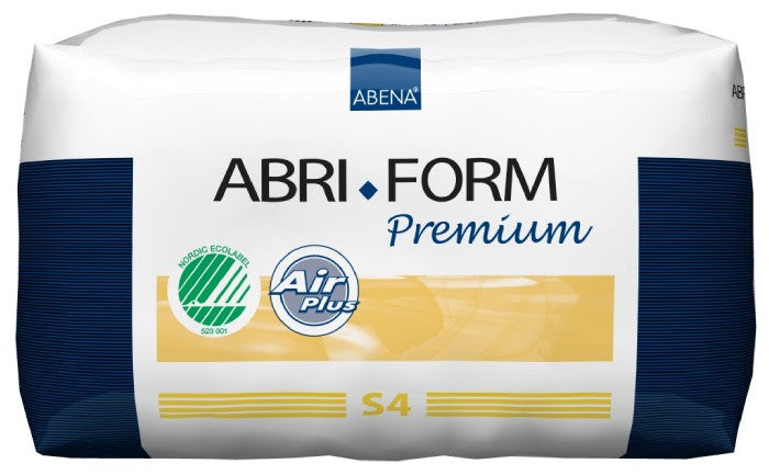 Abena Abri-Form Air Plus Level 4 Adult Diaper, Size Small