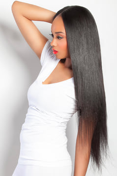 Malaysian-Straight- 3 Bundles 300G- Human Hair Extensions