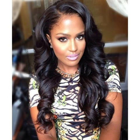 Loose Wave- Brazilian Hair Bundles and Extensions - 4 Bundles
