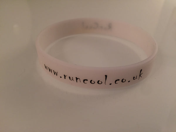 Glow In The Dark Silicone Band - RunCool Running Shop