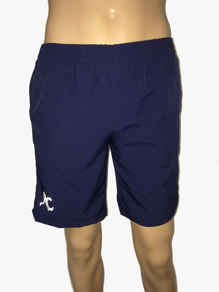 Deep Ocean Blue & Ebony Black Running Shorts