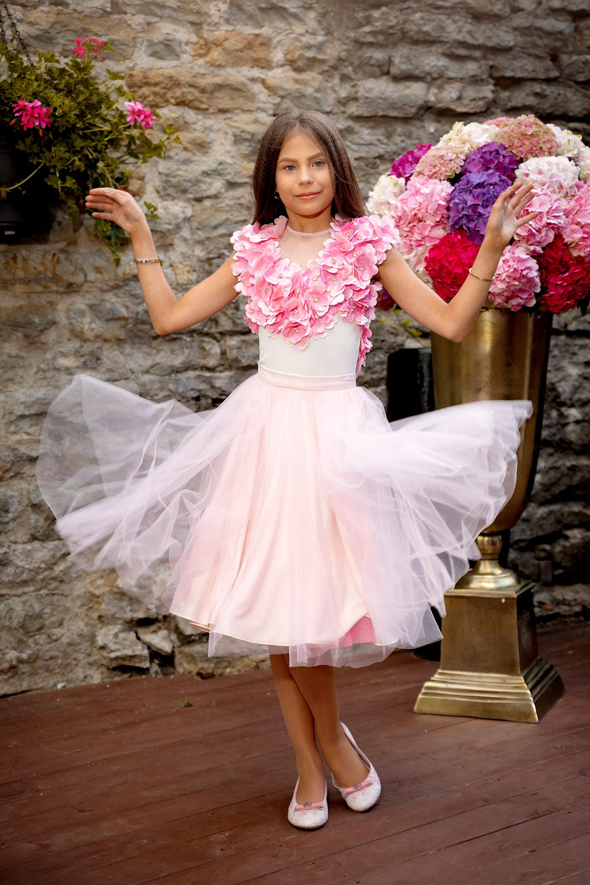 Apple Tree Blossom Skirt
