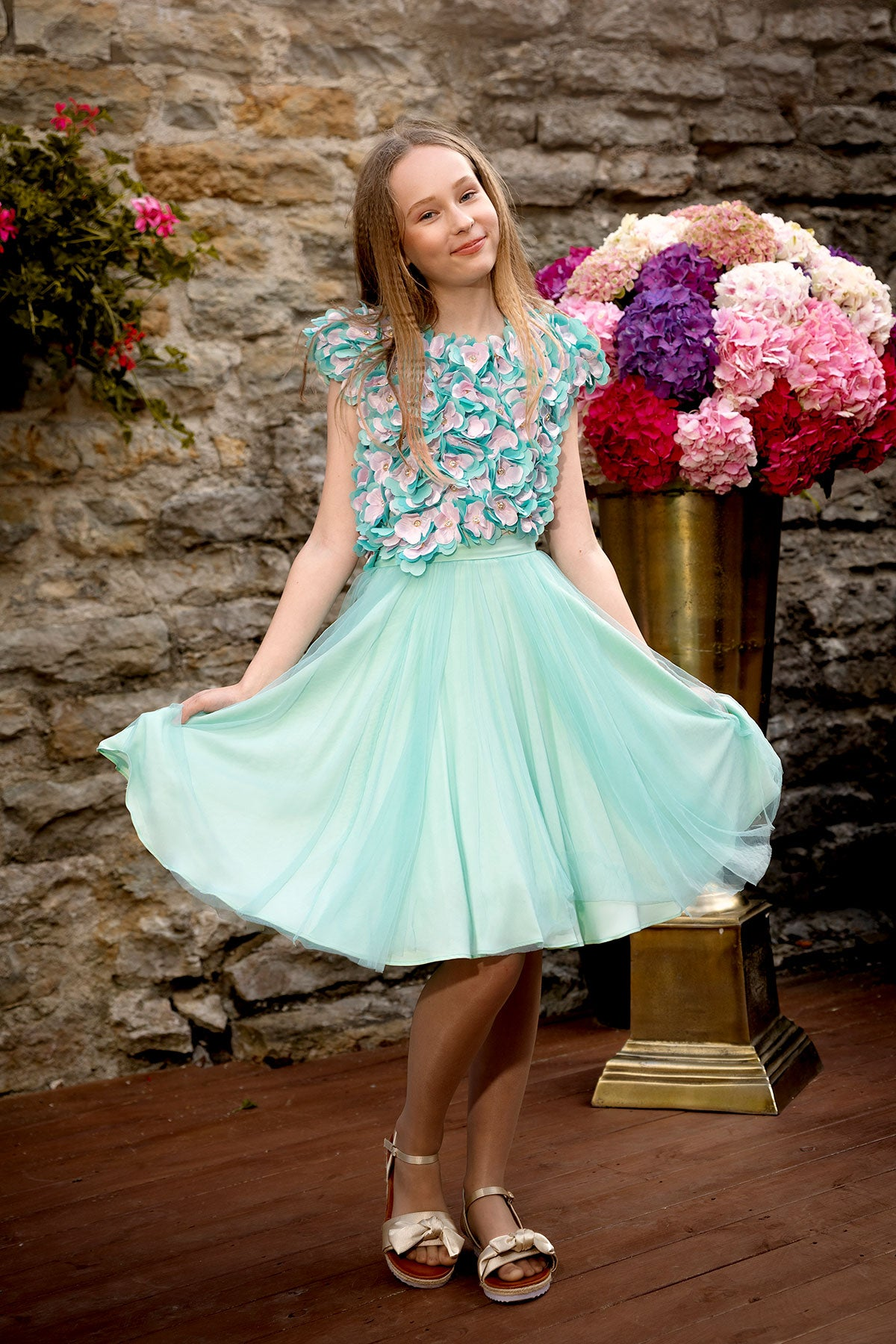 Mint Blossom Body & Skirt