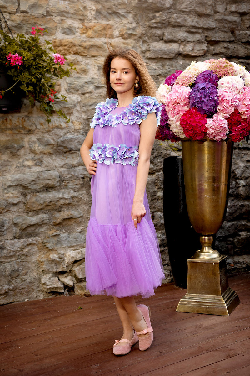Lavender Blossom Dress