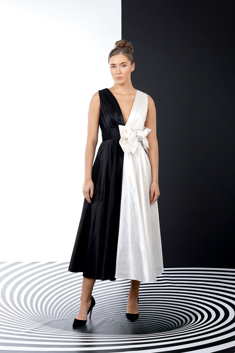 Yin & Yang Bowtie Dress