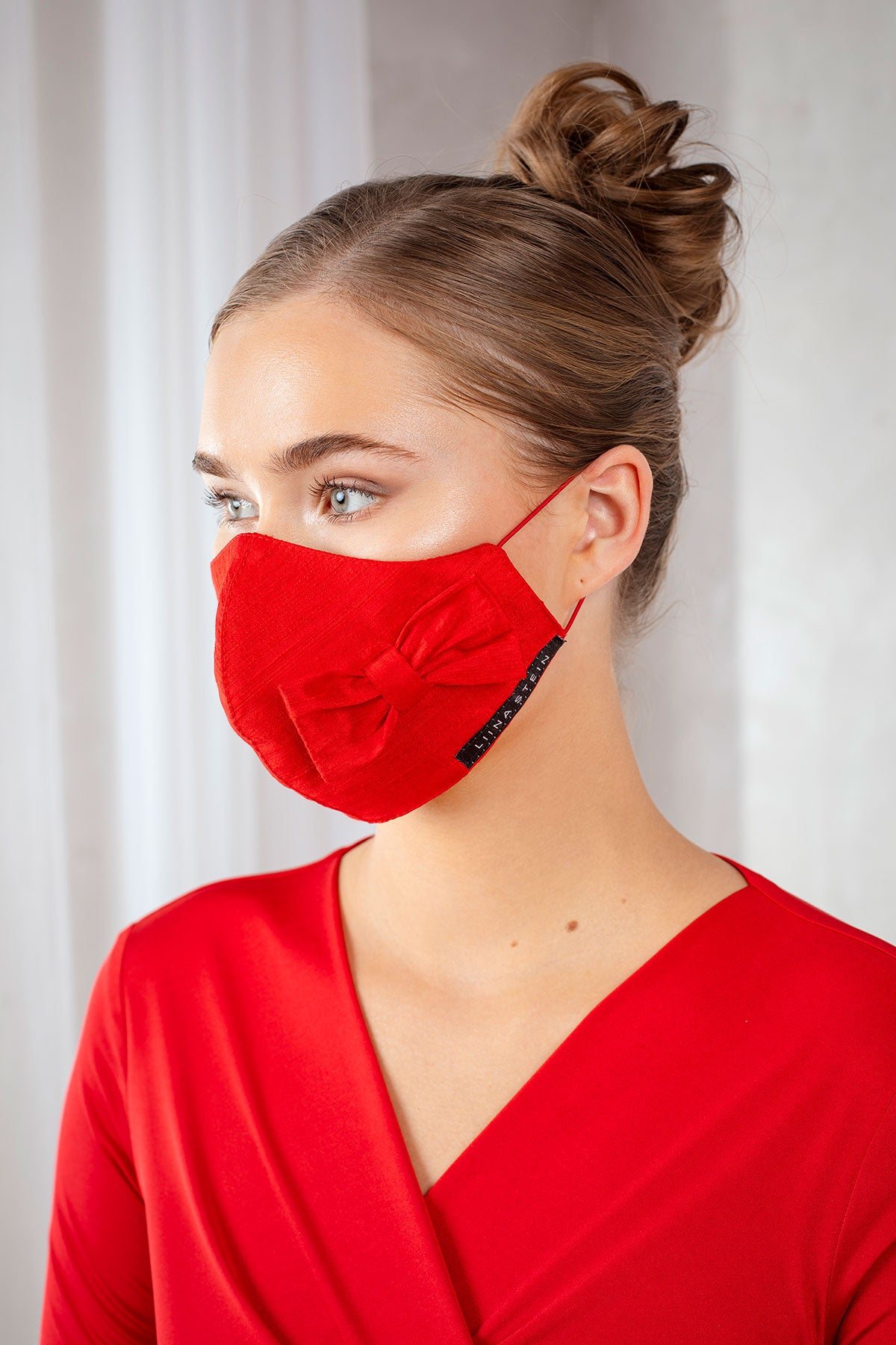 Red Bowtie Mask
