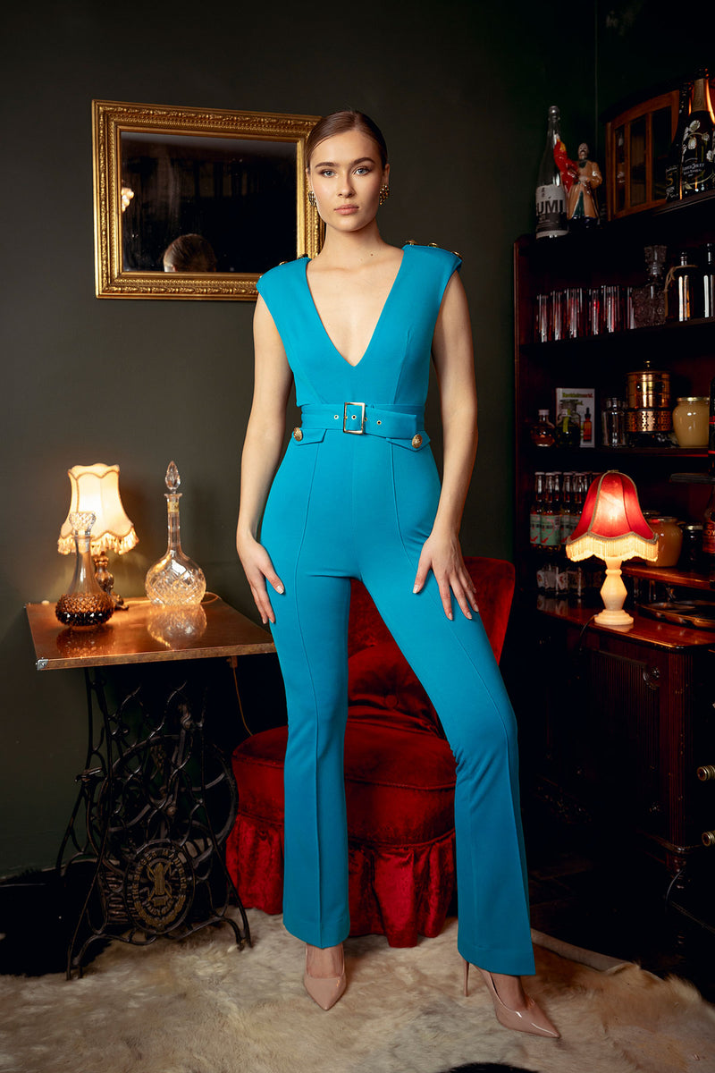 Tres Chic Jumpsuit