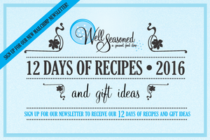 Bonus – 12 Days of Recipes: Veggie Salad with Horseradish Vinaigrette