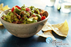 Image - Superbowl Recipes: Bacon & Tomato Guacamole - Recipes from Well Seasoned