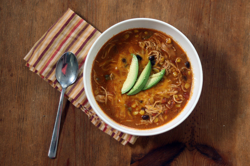 Chicken Enchilada Soup: 8th of our 12 Days of Recipes annual series