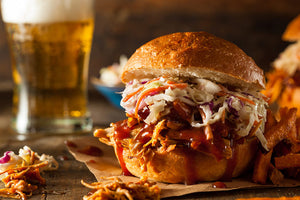 Pulled Chicken Burger