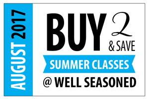 Summer Cooking Class Promotion
