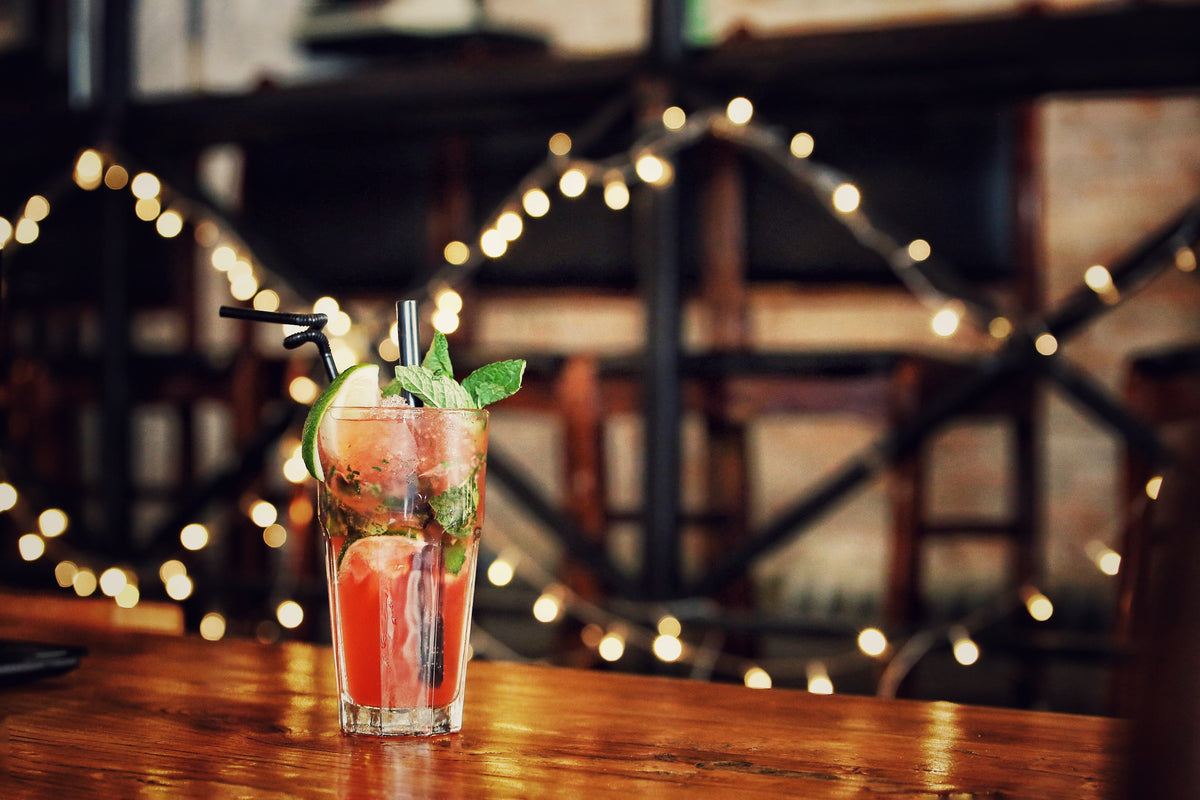 Blood Orange and Basil Mojito | Well Seasoned Gourmet Food Store