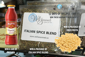 Day 11: 12 Days of Recipes Contest - Italian Lovers Rejoice!