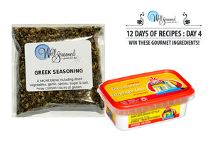 Day 4: 12 Days of Recipes Contest - Macedonian Feta and Our Greek Seasoning Blend