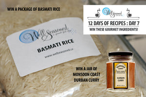 Day 7: 12 Days of Recipes Contest - Monsoon Coast Durban Curry