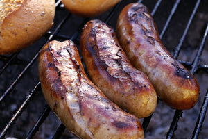 Bonetti Sausages with Caramelized Apples & Onions: BBQ Delights as seen on Global News!