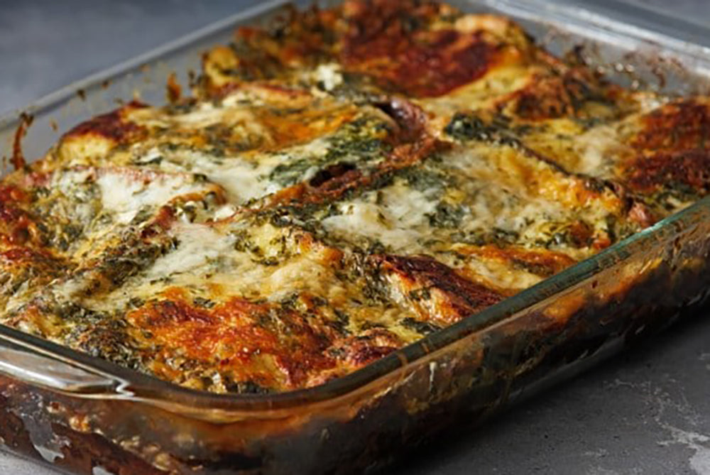 Kale and Butternut Strata: 10th of our 12 Days of Recipes annual series