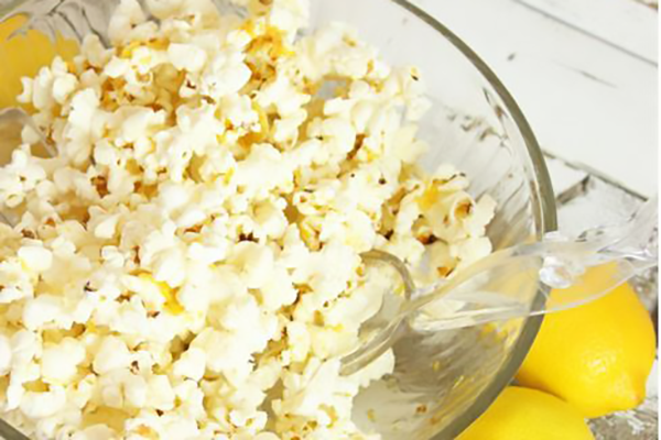 Lemon Brown Butter Popcorn