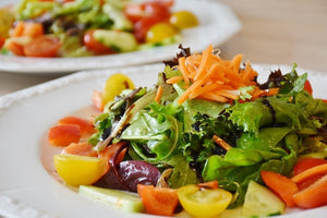 Mixed Greens with Preserved Lemon & Bitters Dressing