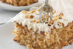 Coconut Pineapple Pecan Cake