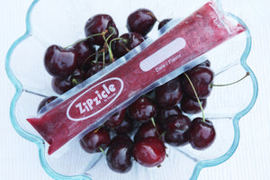 Cherry Lime Freezies | Made with Zipzicles available at Well Seasoned Gourmet Food Store + Online