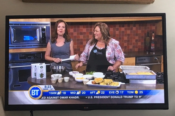 Angie's Cornbread on Breakfast Television
