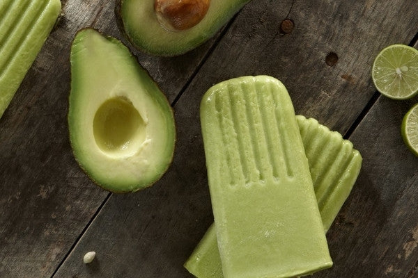 Avocado Popsicles - A Great Treat for Canada Day Celebrations!