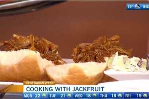 Pulled Jackfruit for Sandwiches