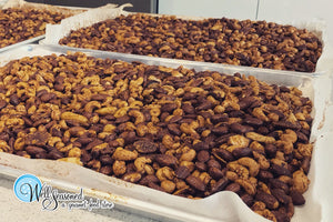 Well Seasoned Sweet Spiced Roasted Nuts