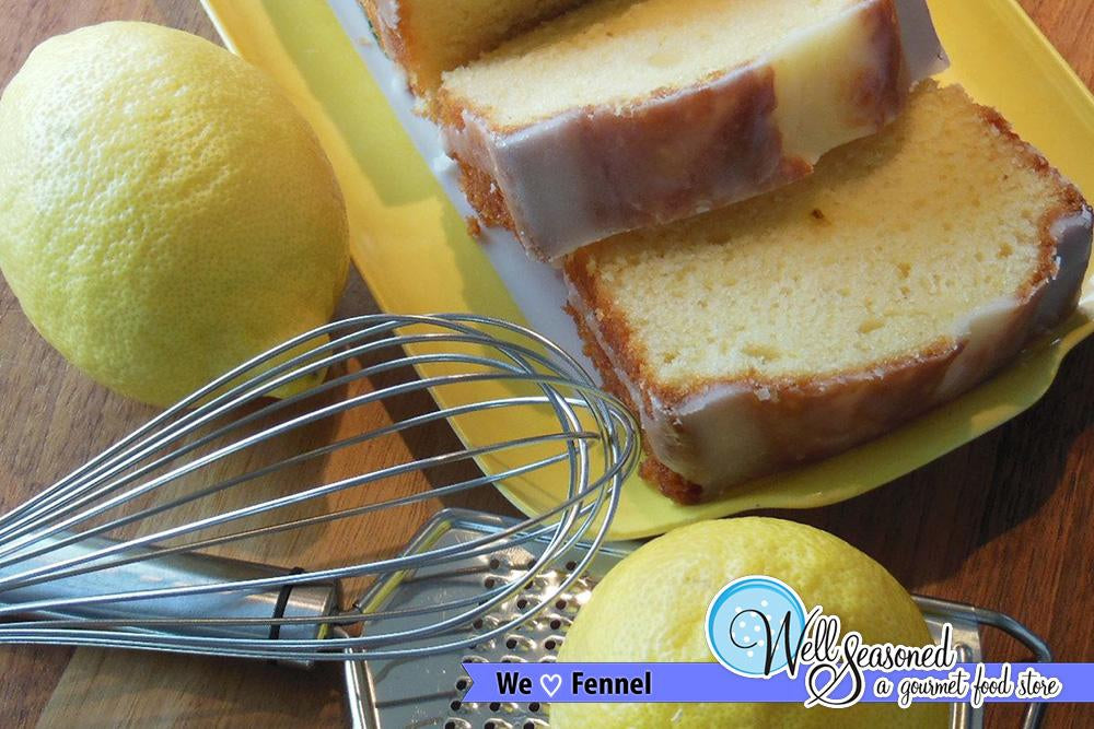 Image - Lemon Cake with Toasted Fennel ft. May's Spice of the Month - Recipes from Well Seasoned