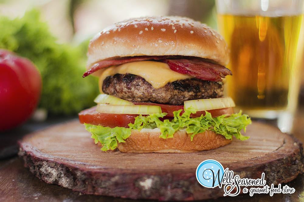 Image - A Really Good Burger - Recipes from Well Seasoned
